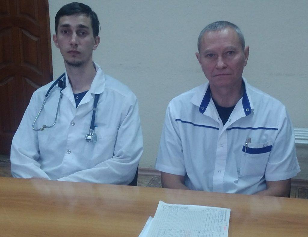 отделение реанимации городской больницы