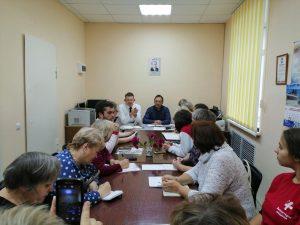 Совет ветеранов и представители горбольницы провели рабочую встречу