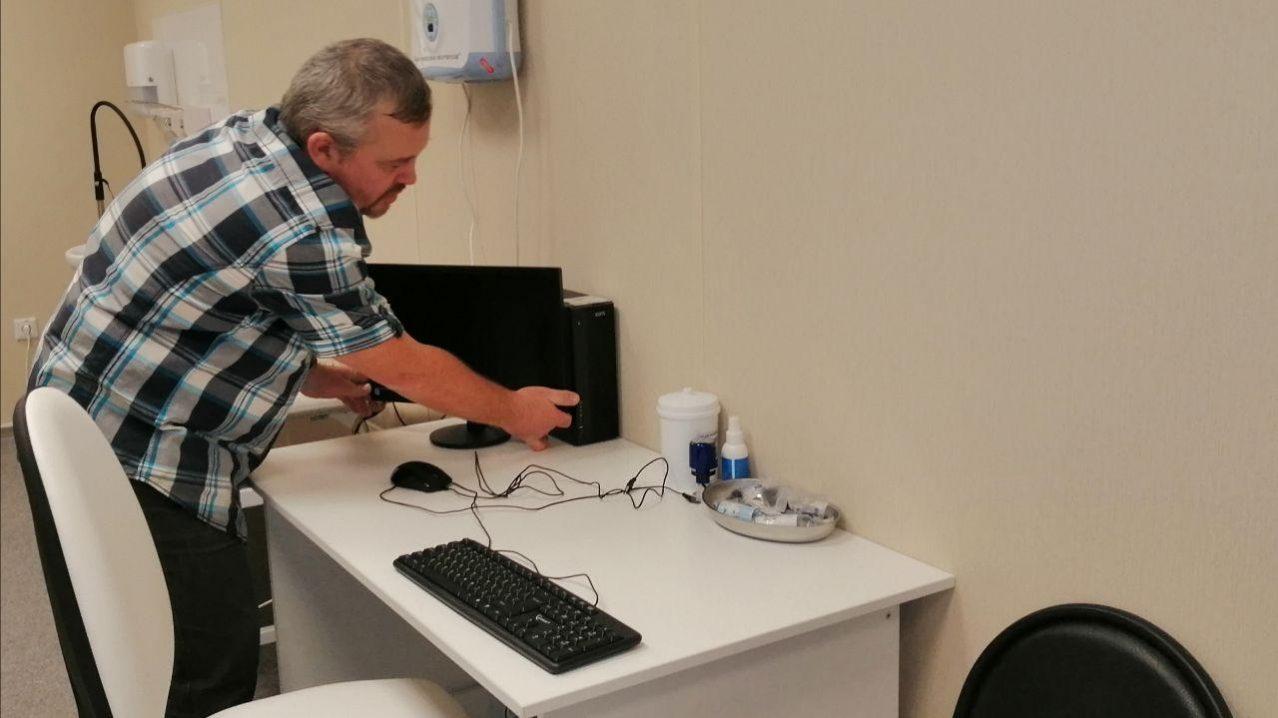 В городской больнице оборудованы новые автоматизированные рабочие места, в том числе и на удаленных территориях