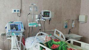 Реанимационное отделение городской больницы дооснастили новым медицинским оборудованием