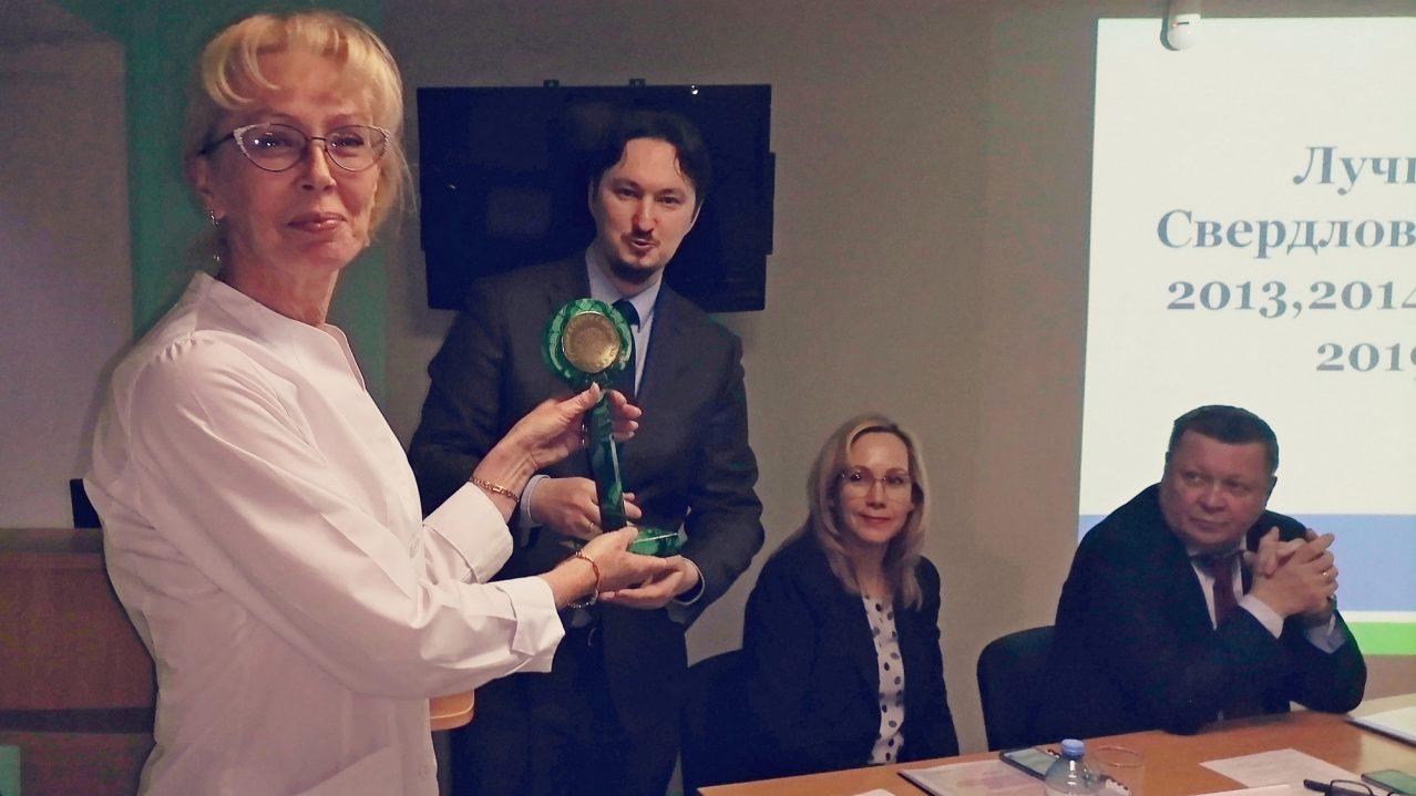 Первичное сосудистое отделение Каменска-Уральского в шестой раз стало лучшим в Свердловской области