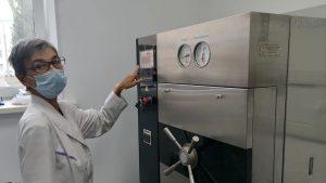 Новая автоклавная оборудована для стерилизации медицинских приборов в Каменске-Уральском